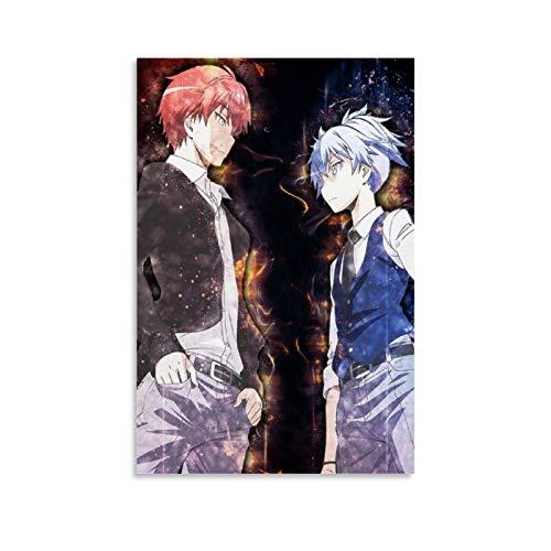 yanhony Póster de anime de Akabane Karma y Nagisa Shiota de Assassination Classroom 2 Lienzo artístico y arte de pared impreso moderno para decoración de dormitorio familiar de 30 x 45 cm