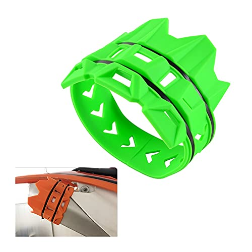 XINYAN YAOQUN Cubierta Protectora de Protector de tubería de Escape de Motocicleta Ajuste para Kawasaki KX 85 125 250 350 450 500 500 250F 450F KLX 250R 300R 400R (Color : Yellow)