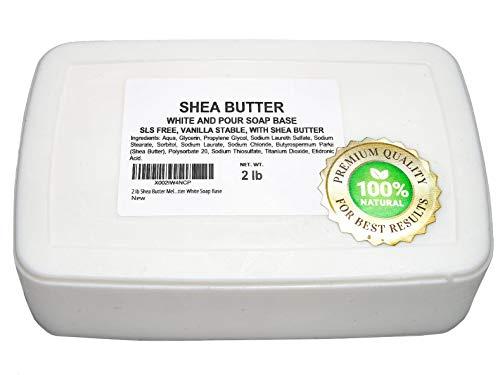 2 lb Shea Butter Melt and Pour Soap Base All...