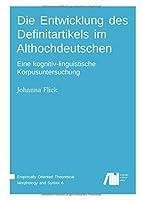 Die Entwicklung des Definitartikels im Althochdeutschen