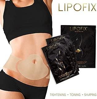 LipoFix Ultimate Body Wrap Lipo Applicator it works for Inch Loss Firming Contouring Shaping (15 Wraps set)(5 Abdomen + 5 pair (10 pcs) Body)