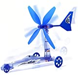 Wind Energy Powered Car, Science STEM Toys,Children's Educational DIY Toy