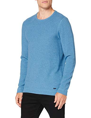 BOSS Herren Tempest Sweatshirts, Turquoise/Aqua (440), Large