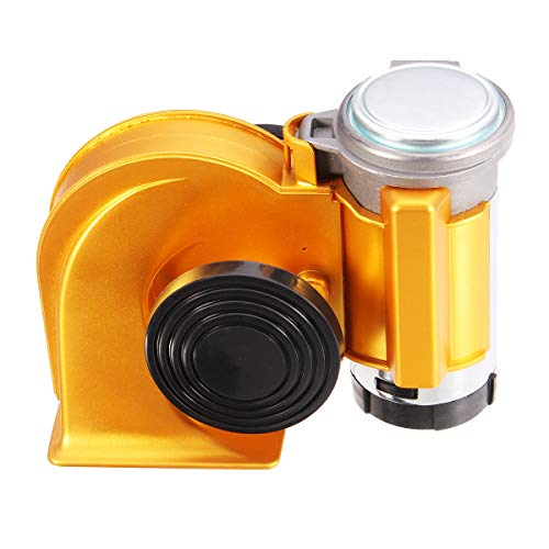 C-FUNN elektrische luchtpomp, 12 V, 139 dB, sterke hoorn, compact, voor auto, vrachtwagen, motorfiets or