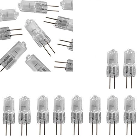 Skyllc® 10pcs Halogen Beleuchtung Glühlampe Lampe 12V 10W Energieeinsparung