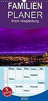 Mein Magdeburg - Familienplaner hoch (Wandkalender 2022 , 21 cm x 45 cm, hoch): Monatskalender fuer Magdeburg (Monatskalender, 14 Seiten )
