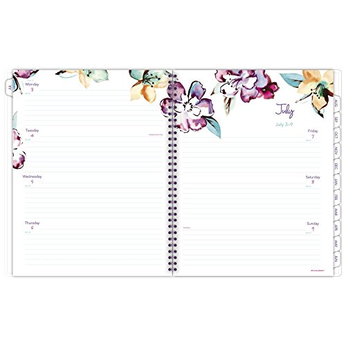 "AT-A-GLANCE Academic Weekly / Monthly Planner, July 2017 - June 2018, 8-1/2"" x 11"", June Design (1012-905A) Photo #6"