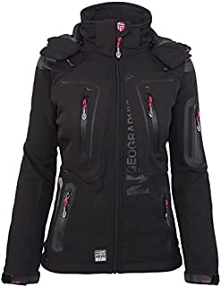 Geographical Norway-Chaqueta multifunción softshell impermeable para mujer