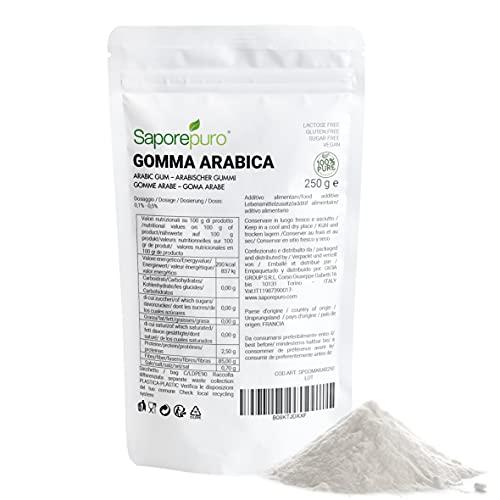 Goma arabiga en polvo - 250 gr