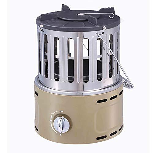Portátil Gas Estufa De Terraza,Multi Gas Licuado Calefactor De Pie Infrarrojo,Tablero Top Estufa De Calefacción Grill para Camping Outdoor Indoor-Gas Licuado
