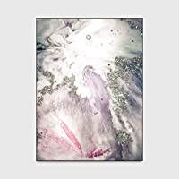 ギャラクシースターエリアラグマーメイドピンク屋内屋外カーペット現代の芸術家の装飾の寝室のリビングルームゴールドペットマット 1'3x1'9