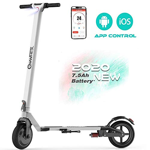Magicelec Electric Scooter for Adults: Folding Electric Scooter with 8.5' Air Filled Tires Shock...