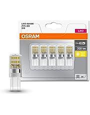 Osram LED Star Pin lamp, G4, 0, 90 W, vervanging voor 10 W gloeilamp, helder, warm wit, 2700 K