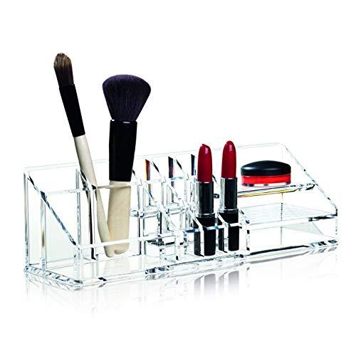 Nomess Copenhagen Organiseur à Maquillage Transparent Clear Room