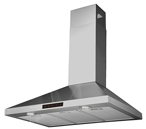 STL75-LED Wall-Mounted Kitchen Range Hood