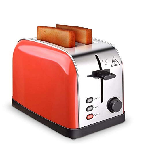 Toaster 2 Slice Toasters Best Rated Prime Extra Wide Slots Compact Stainless Steel...