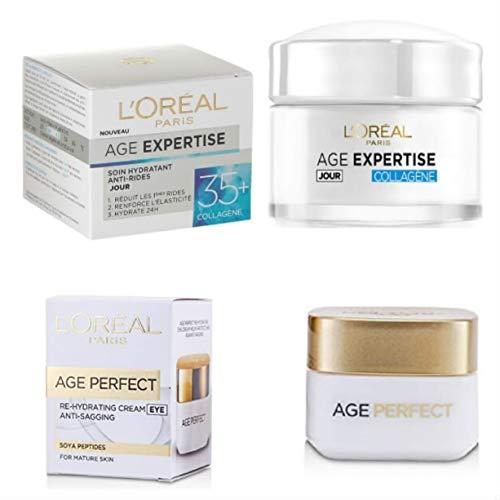 L'Oréal Pack de 2 Produits Revitalift :Sérum Visage +Soin Contour Des Yeux 30 40 ans .