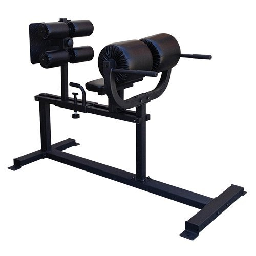 OneFitWonder Commercial GHD (Glute Ham Developer) / 20' Horizontal Knee Pad / 4 Floor Mounting Holes/Strengthen Core, Back & Hip Flexors