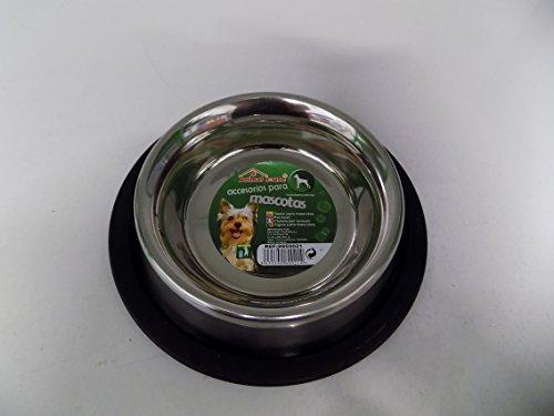 Mangeoire Abreuvoir pour chien-Inox-Diamètre 15,5 cm x 2,5 cm