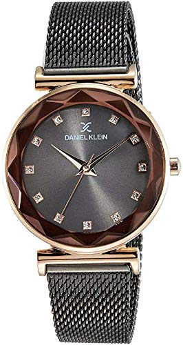 Daniel Klein Analog Black Dial Women's Watch-DK11404-8