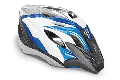 Puky helm PH 4 maat M/L wit blauw Art.num 9574
