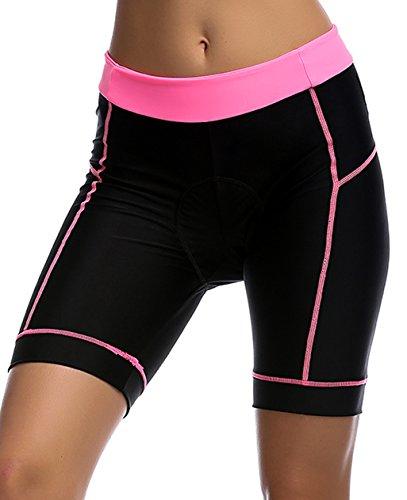 UDIY Bicycle Pants Women - Quick Dry 3D Padded Bike Tights MTB Cycling Shorts (S-XXL)