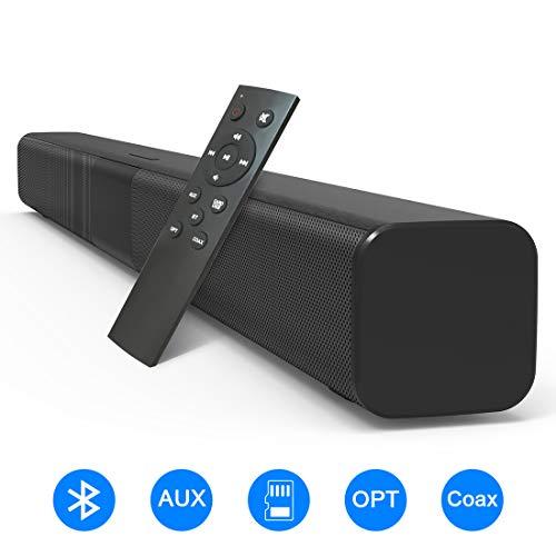 VANZEV Barre de Son sans Fil TV Haut-Parleur Bluetooth 5.0 110 DB 32 Pouces 50W Subwoofer Intégré...