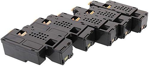 TONER EXPERTE® 5 Toner kompatibel für Dell 1250c 1350cn 1350cnw 1355cn 1355cnw C1760nw C1765nf C1765nfw C17XX 593-11016 593-11021 593-11018 593-11019 (2000 & 1400 Seiten)