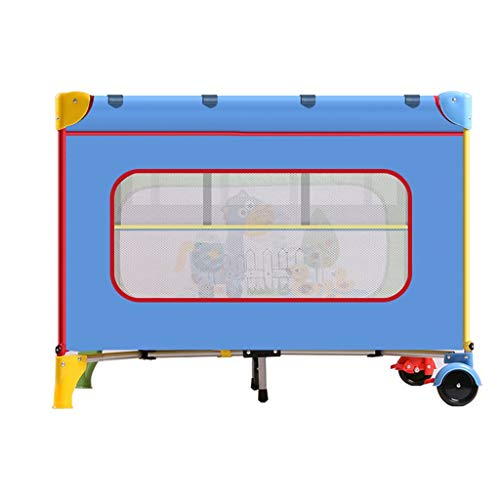 Why Choose Multifunctional Game Bed Crib Travel Cots Portable Folding with Mattress Mosquito Net 4 C...