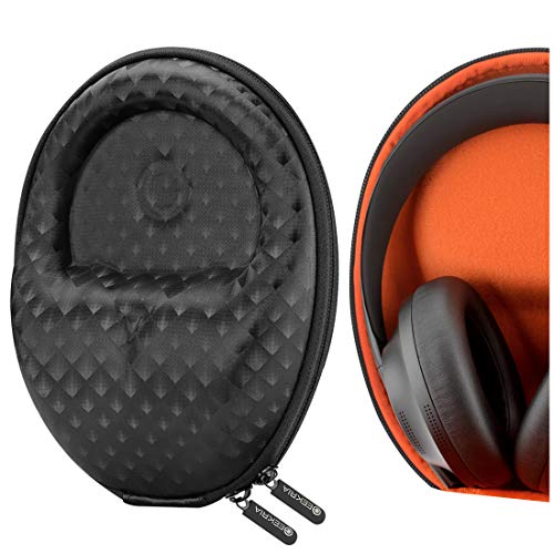 Geekria Funda para Auriculares Mid-Sized Foldable and Non-Fordable Headphones, Estuch Rígido de Transporte, Viaje Bolsa