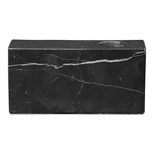 Blomus Kerzenhalter-65997 Marmor Kerzenhalter, Schwarz, One Size