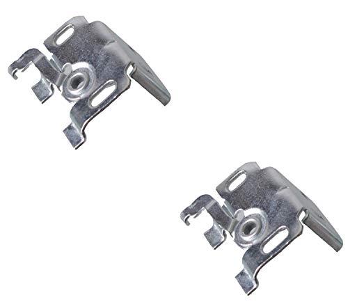 EFIXS Universalträger (Jalousieträger) (2 Stück) für Wand- oder Deckenmontage für Aluminium-Jalousien mit 25mm Oberschiene