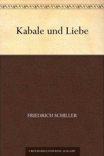 Buchseite und Rezensionen zu 'Kabale und Liebe' von Friedrich Schiller
