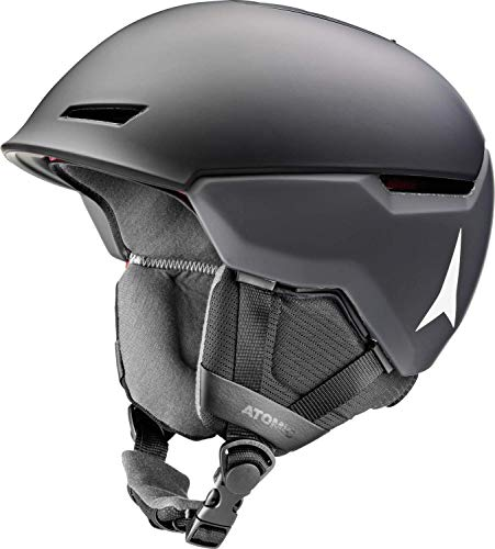 Atomic Unisex Revent+ LF All Mountain-Skihelm, L (59-63 cm), Schwarz, AN5005630L