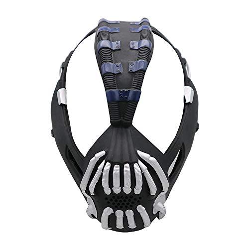 BB67 - Máscara realista relajada para disfraz de Halloween, fantasma, regalo de terror para niños, amigos, decoración de Halloween