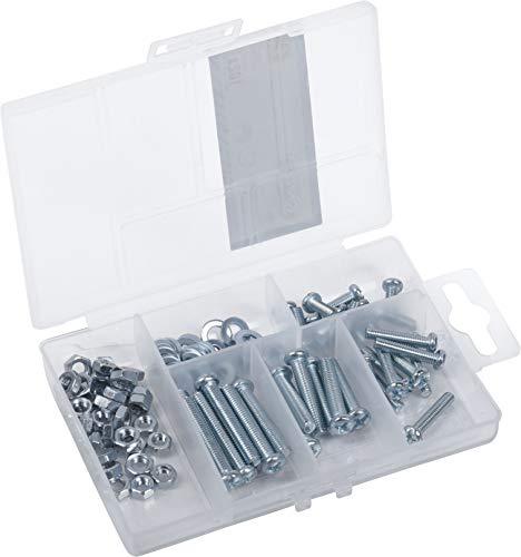 Connex DP8500103 - Surtido de tornillos de rosca, 102 piezas