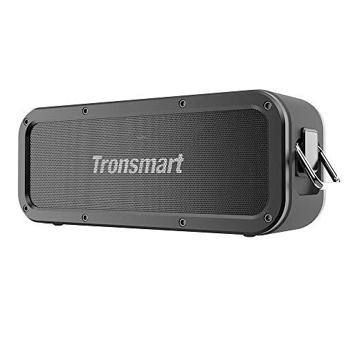 Tronsmart Force Bocina Bluetooth, IPX7 Impermeable, Potencia de 40W Bocina inalámbrico Portátil, Efectos de Sonido Estereo 3D, Doble...
