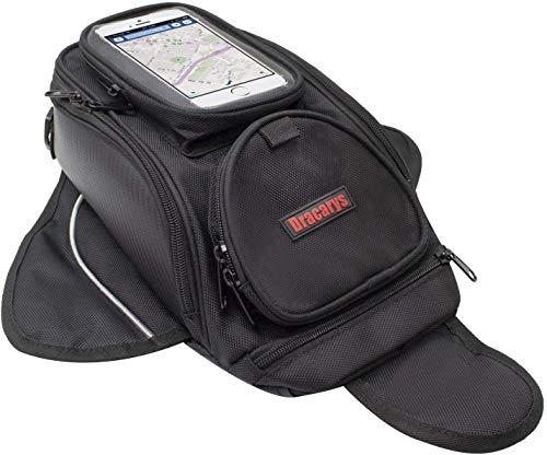 Motociclo Borse serbatoio - Oxford borsa con sacco nero per motocicletta - Borsa magnetica forte per Honda Yamaha Suzuki Kawasaki Harley - Dracarys