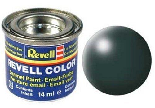 Peinture émail Revell vert platine satiné