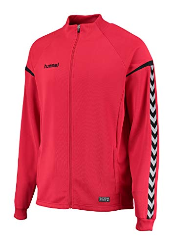 Hummel Damen Auth Charge Poly Zip Jacket Jacke, True Red, M