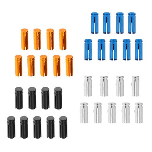 sharprepublic Alberi Dardo 36x in Lega di Alluminio, Alberi Dardo 50mm Asta Media Dardo Colore Misto