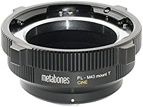 Metabones PL Lens to Micro Four Thirds Camera T Adapter, Black
