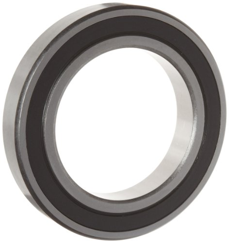 WJB 6013-2RS Deep Groove Ball Bearing, Double Sealed, Metric, 65mm ID, 100mm OD, 18mm Width, 6850lbf Dynamic Load Capacity, 5650lbf Static Load Capacity