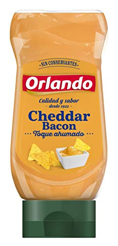 Orlando Salsa Cheedar Bacon 245 g