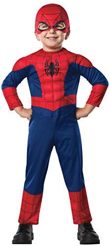 Rubie's-déguisement officiel - Marvel- Déguisement Pour Enfant Luxe Spiderman Ultimate-Taille TOD- I-620009TOD