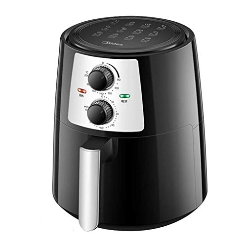 ZLJ Freidoras de Aire doméstico automático multifunción de Gran Capacidad sin máquina de Papas Fritas (Color: Negro tamaño: 26 * 30 * 35 cm)