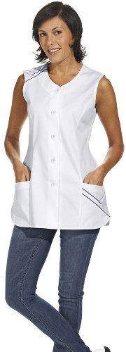 LEIBER Hosenkasack - Damen-Kasack - ohne Arm - weiß - Größe: 38