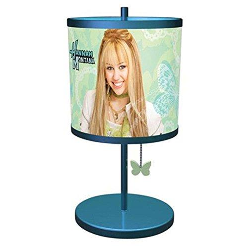 KNG 001565 Hannah Montana Table Lamp Blue Home & Garden