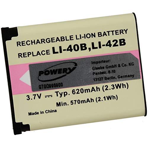 Powery Batería para Voigtländer Vito 65