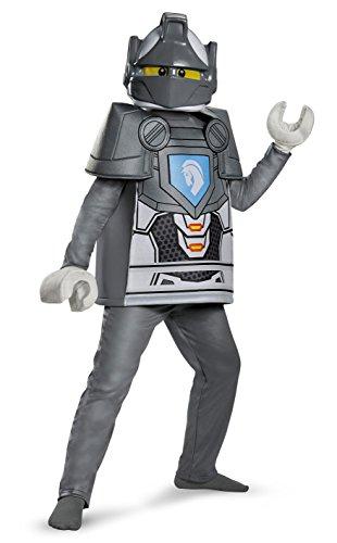 Costume per Bambini Lego Nexo Deluxe, Lance, Taglia M, età 7–8Anni, Altezza 127cm–136 cm